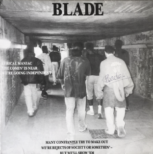 "Blade - Lyrical Maniac (12"") (Signed) (G/VG++)"